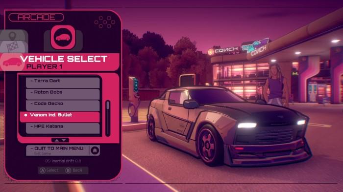 Inertial Drift - Screenshot 4